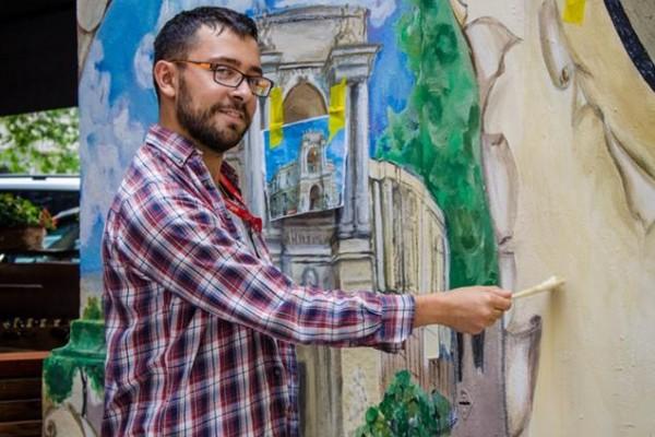 Роспись трансформаторной будки в Одессе | Aрт-студия «Peach»