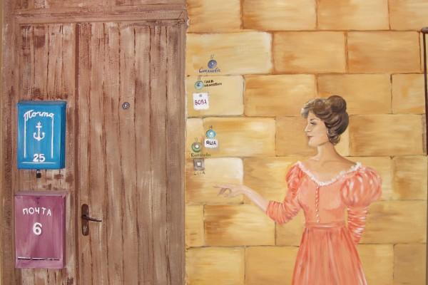 Роспись стен Дома Бабеля | Aрт-студия «Peach»