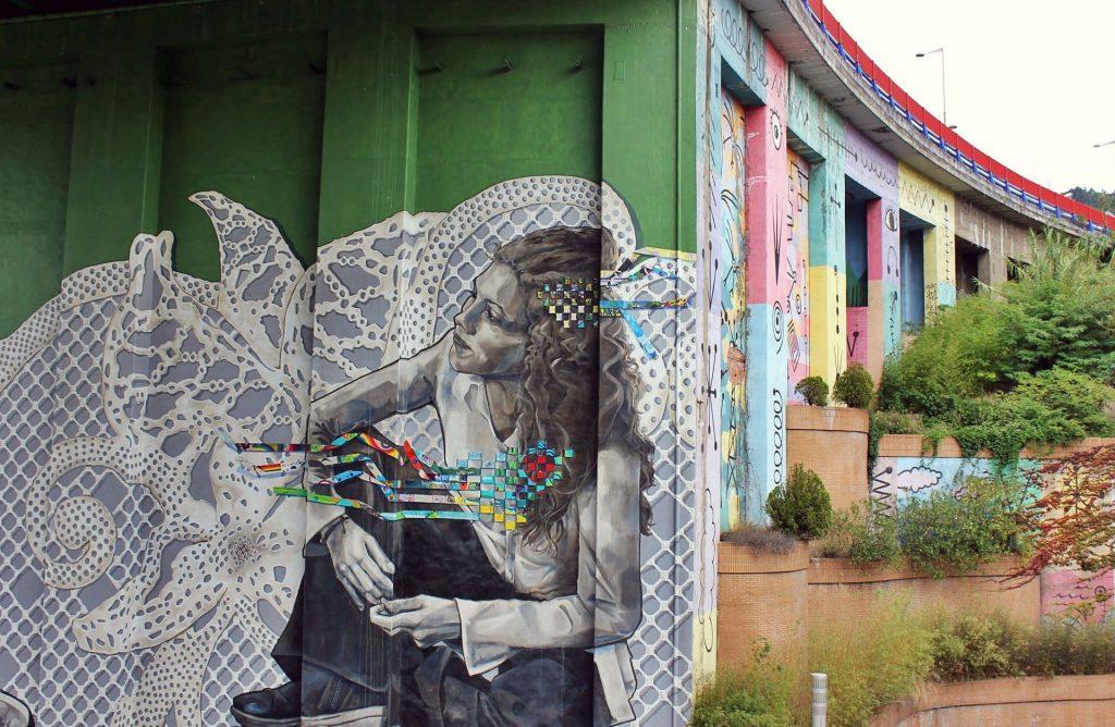стрит-арт в Одессе  | Арт-студия «Peach»