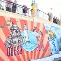 Хайфа, Ахматова, башня Давида – в Одессе появился новый мурал