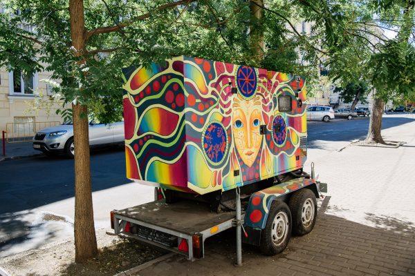 Стрит арт в Одессе, графити, аэрография, роспись стен, стрит арт в Украине, М97 Одесса