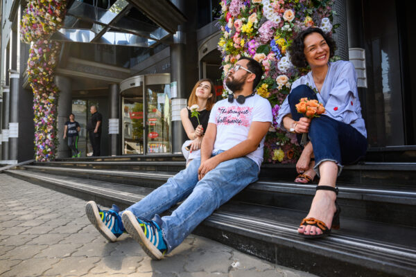 Алексей Шкурат, Екатерина Маценко и Алевтина Ликторас, Studio Peach